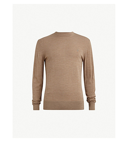 ALLSAINTS Mode merino wool jumper (Almondbrownm