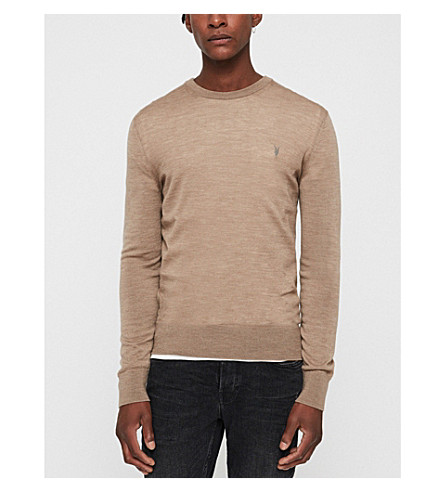 ALLSAINTS Mode merino wool jumper (Almondbrownm
