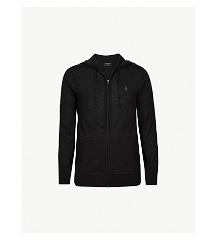 ALLSAINTS Mode wool hoody (Black