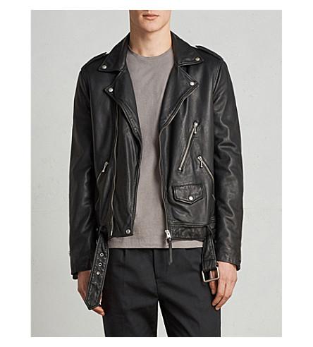 ALLSAINTS Kodey leather biker jacket (Black