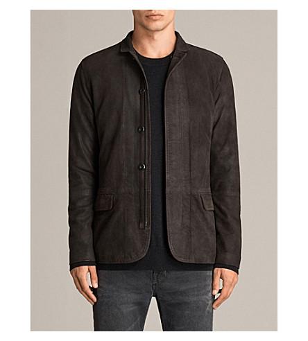 ALLSAINTS Balmorro leather jacket (Anthracite+gre