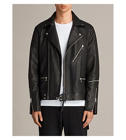 ALLSAINTS Nothing Really Happens Ryo leather biker jacket (Jet+black