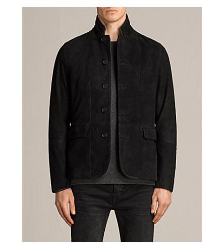 ALLSAINTS Liath suede blazer (Black