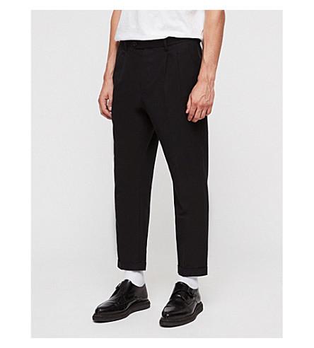 ALLSAINTS Tallis tapered wool-blend pants (Black