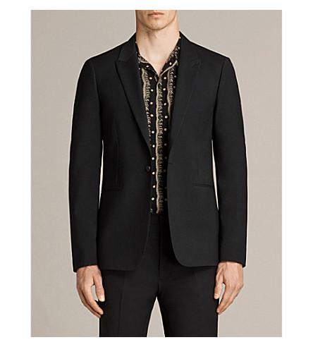 ALLSAINTS Kente woven blazer (Black