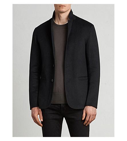ALLSAINTS Ferme classic-fit wool-blend jacket (Black