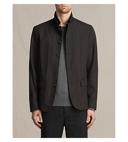 ALLSAINTS Mayson cotton blazer (Black