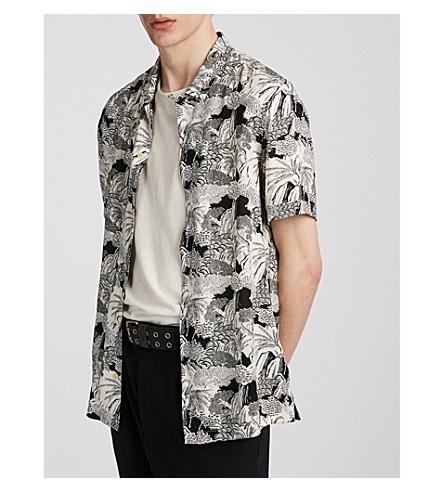 ALLSAINTS Hawaiian Shirt Project Mauna regular-fit woven shirt (Ecru