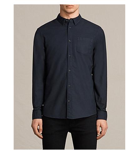 oxford ALLSAINTS ALLSAINTS Ink navy shirt shirt Stukeley Ink Stukeley navy oxford ALLSAINTS 8faatw5q