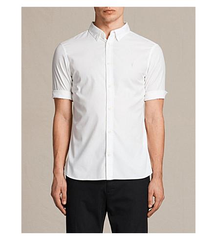camisa fit slim de Redondo ALLSAINTS algodón blanco ZFqzgWw