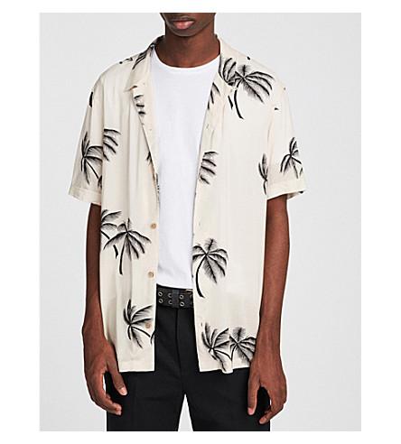 ALLSAINTS Hawaiian Shirt Project Offshore slim-fit printed shirt (Ecru