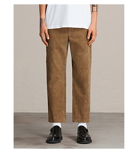 ALLSAINTS Nothing Really Happens corduroy Templin trousers (Tan