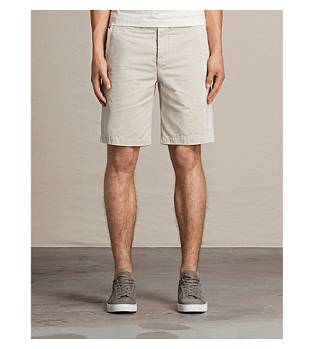 ALLSAINTS Miller cotton shorts (Vintage+white