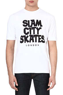 SLAM CITY SKATES London t-shirt