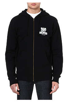 SLAM CITY SKATES London zip-up hoody