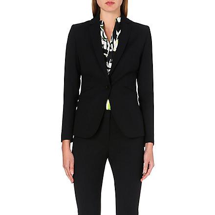REISS Larke slim-fit tailored jacket (Black