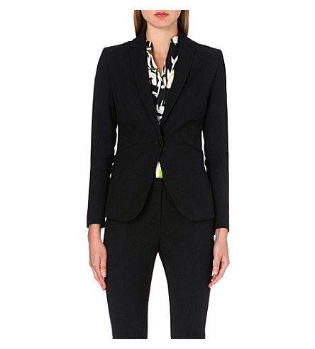 REISS Larke slim-fit tailored jacket (Black