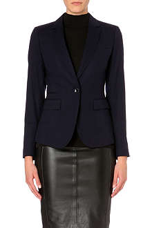 REISS Theo tailored pocket blazer