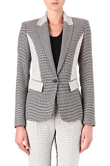 REISS Ashberry panelled blazer