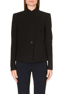 REISS Pinot fitted fishtail jacket