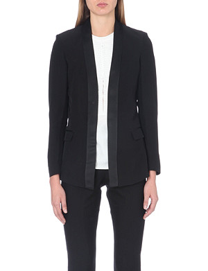 REISS Charlize crepe jacket