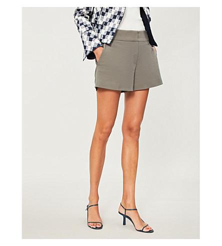 blend Sage cotton tailored REISS REISS green shorts Lyla Lyla wxHq7aR0X7