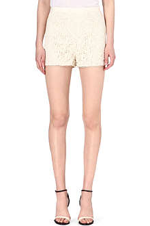 REISS Dale crochet-lace shorts