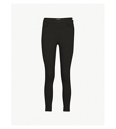 REISS Hedy skinny mid-rise jeans (Black