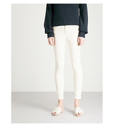 REISS Stevie skinny mid-rise jeans (Ecru