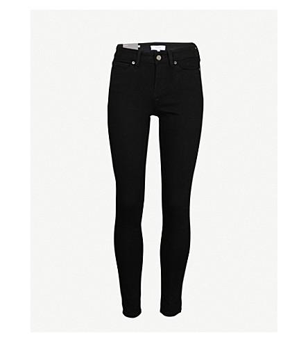 REISS Stevie low-rise skinny jeans (Black