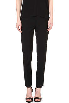 REISS Arola fitted straight trousers