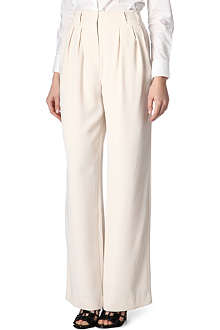 REISS Harperie pleat-front trousers