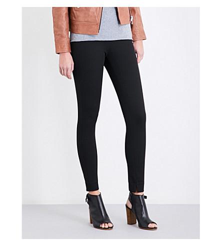 REISS Tyne super-skinny gabardine trousers (Black