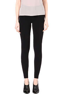 REISS Davenport knitted leggings