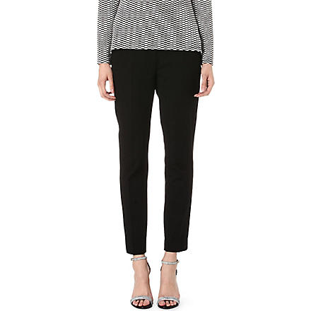 REISS Paris slim-fit trousers (Black