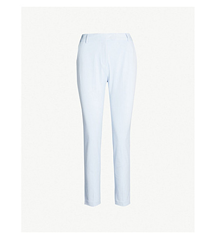 REISS Joanne skinny woven trousers (China+blue