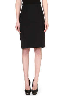 REISS Seliana raised-seam pencil skirt