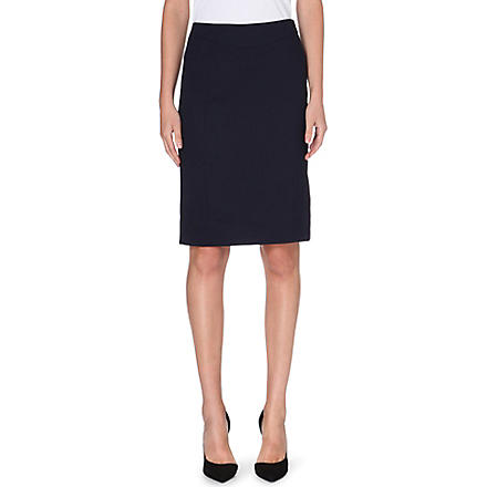 REISS Tami tailored pencil skirt (Navy