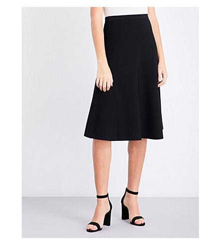 REISS Loretta knitted skirt (Black