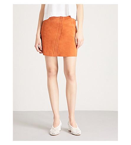 altura de REISS de Mini gran Naranja ante falda Sammie A04qZ