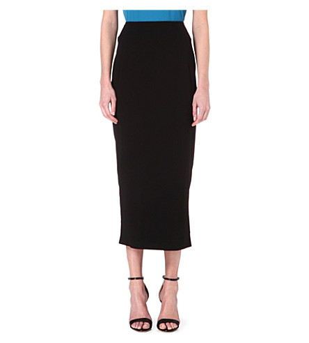 REISS Bryant pencil skirt (Black