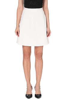 REISS Reno A-line stretch-crepe skirt