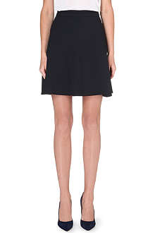 REISS Reno panel a-line skirt