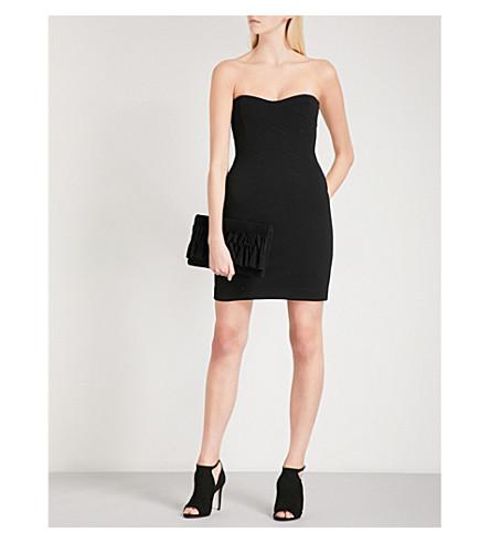 REISS Miranda strapless jersey dress (Black