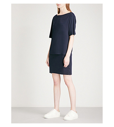 REISS Lorni jersey dress (Night+navy