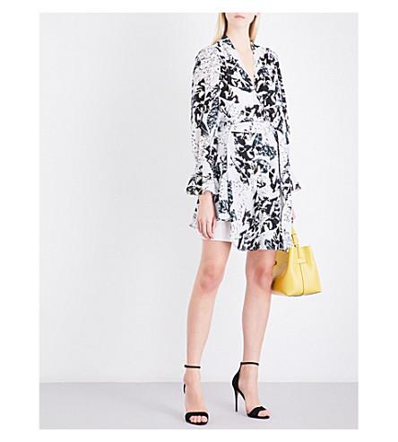 REISS Serenella chiffon dress (Multi