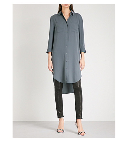 REISS Zoey woven shirt dress (Juniper+new