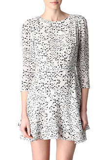 REISS Giselle silk dress