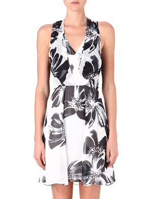 REISS Alice silk dress