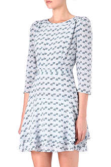 REISS Giselle printed dress